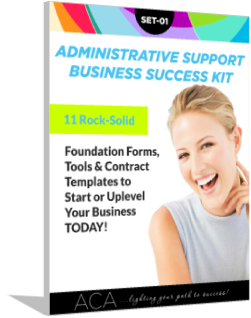 SET-01 Administrative Support Business Set-Up & Success Kit