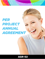 Per-Project Annual Agreement Contract Template