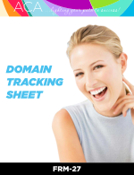 Domain Tracking Sheet (FRM27)